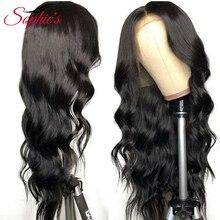 Sophie's Brazilian Body Wave 4*4 Lace Closure Wigs Pre Pluck