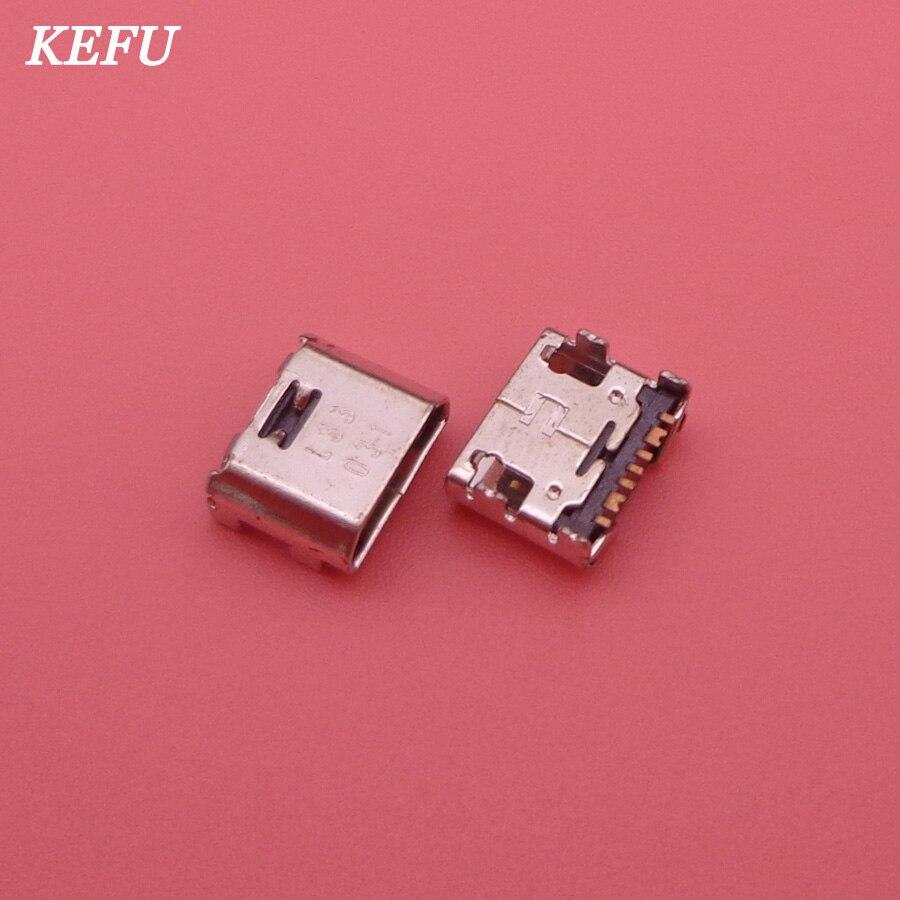 500 ピース/ロットマイクロ USB ジャックソケットコネクタミニドックプラグ充電ポート三星銀河コアプライム G360 G361F タブ E T560 T561  グループ上の 携帯電話 & 電気通信 からの 携帯電話用フレックスケーブル の中 1