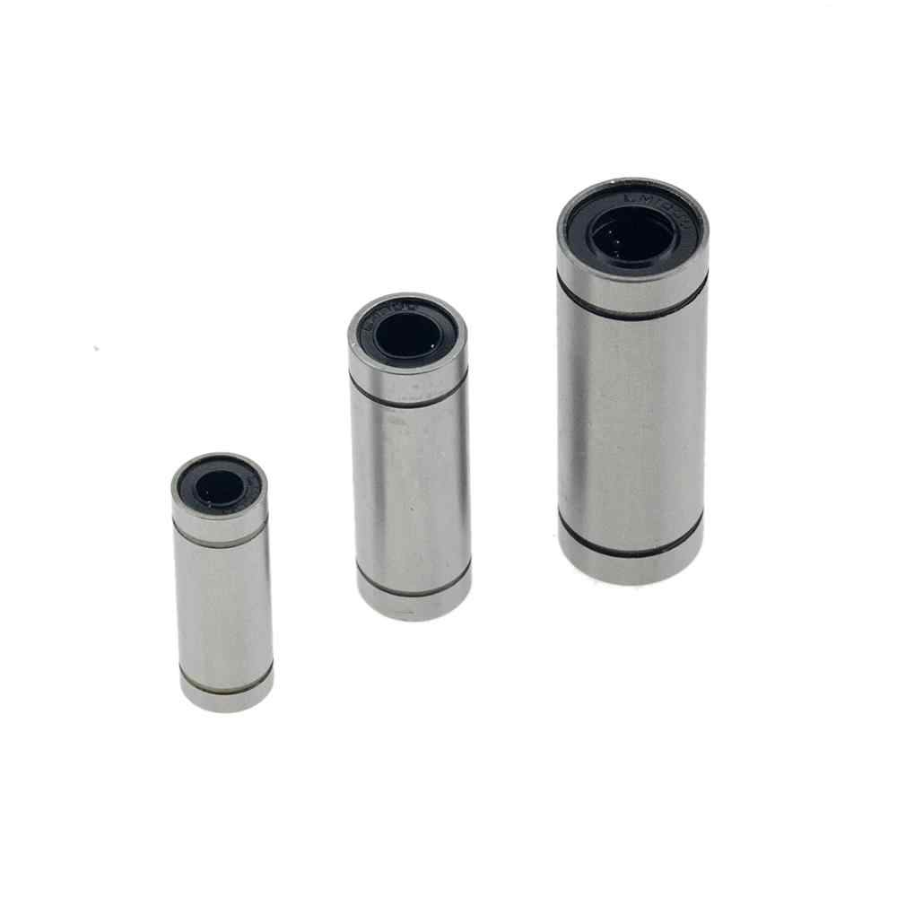 10 cuscinetti lineari di CNC della boccola lineare 8mm LM8UU LM10UU LM16UU LM6UU LM12UU LM3UU per le parti lineari dell'albero della guida della fodera delle aste