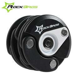 Rockbros bike anti theft mini foldable chain lock folding locks hamburg lock bicycle cycle cycling locks.jpg 250x250