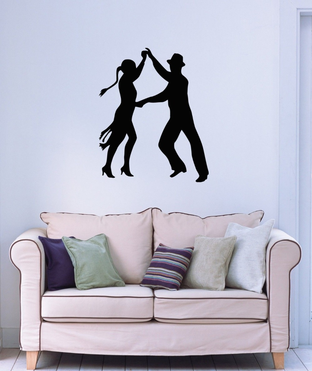 Wall Stickers Vinyl Decal Latin Dance Tango Passion