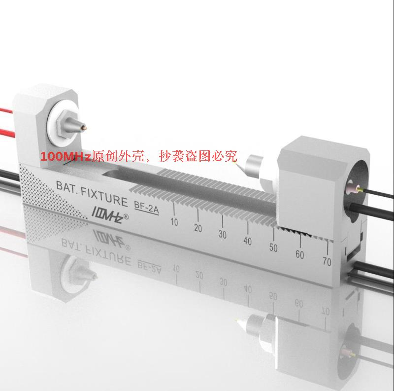 Double Self locking Aluminium Alloy CNC Four wire Battery Holder Fixture BF 2A 18650 AA AAA
