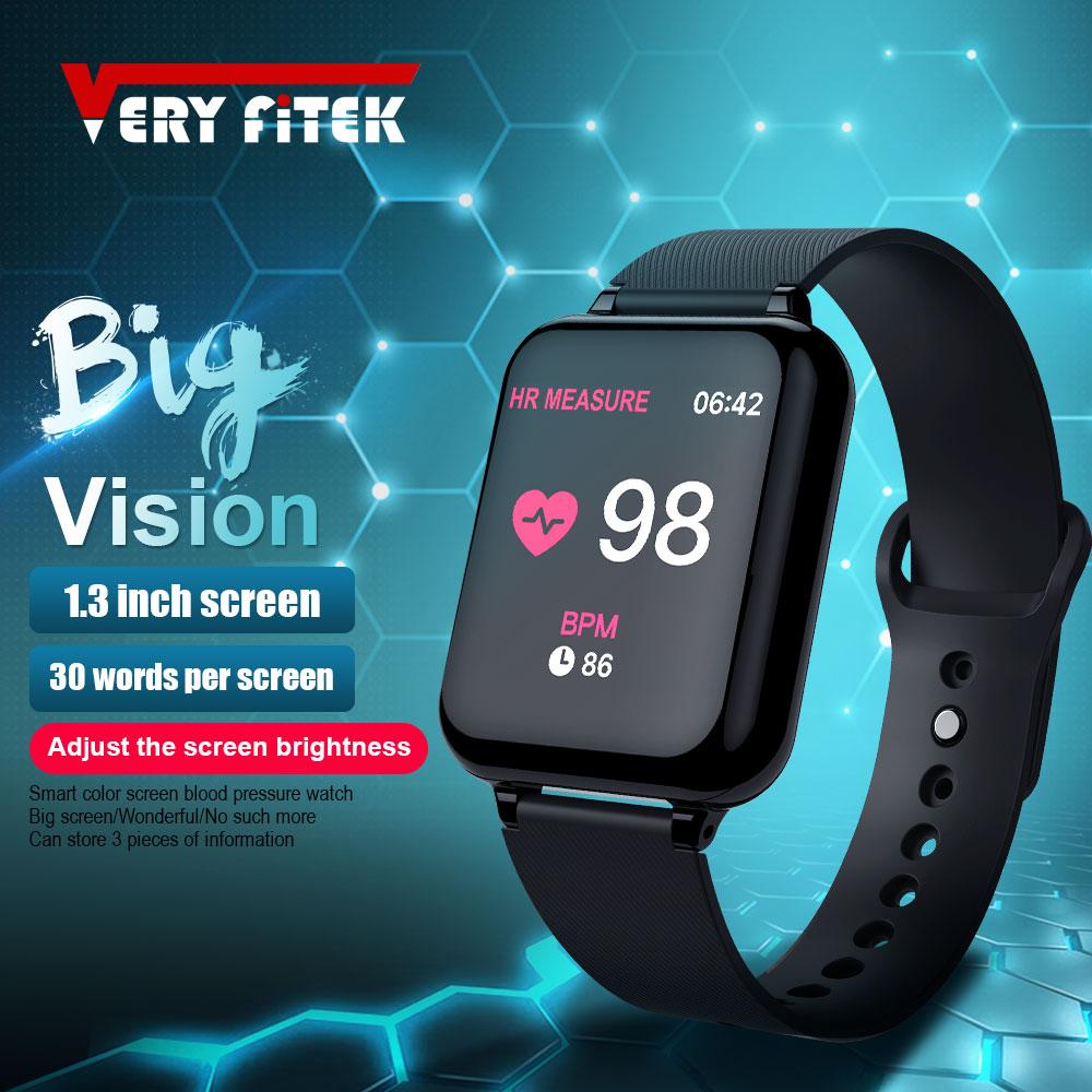 VERYFiTEK AW4B Smart Watch Blood Pressure Oxygen Fitness Bracelet Watch Heart Rate Monitor IP67 Men Women Sport Smart watch