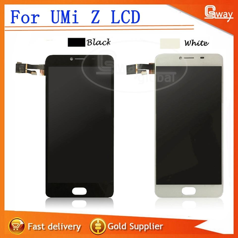 imágenes para Negro/Blanco Para UMi Z Pantalla LCD + Pantalla Táctil de 5.5 pulgadas perfecta parte + herramientas de reparación