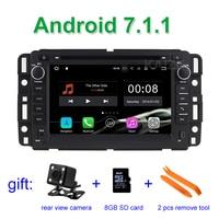 2GB RAM Android 7 1 1 Car DVD Player For GMC Yukon Denali Acadia Savana Sierra