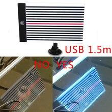 Lampa LED Scratch płyta odblaskowa linia światła odbicie Boardferramentas PDR Paintless karoseria narzędzia do naprawiania wgnieceń usuwanie zębów