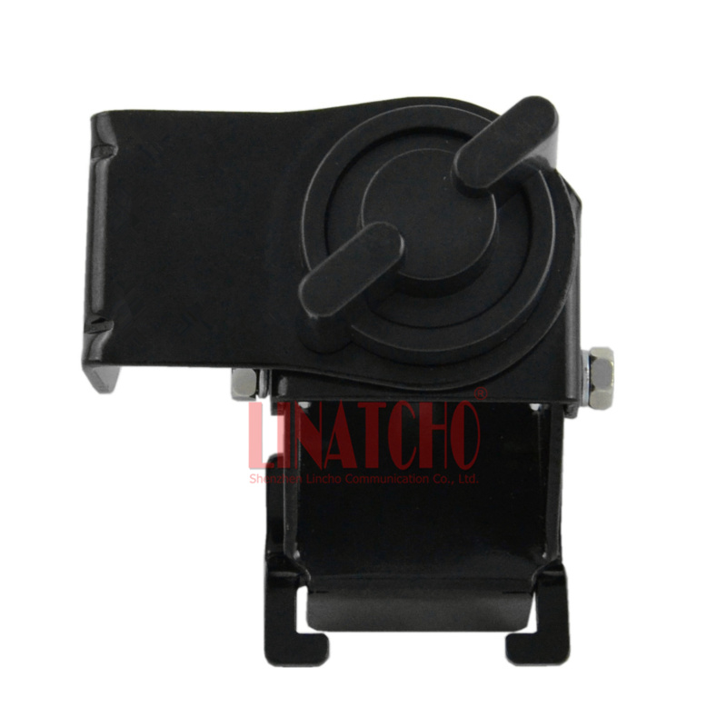 RB-56 black car antenna mount gutter mount bracket for mobile radio antenna SO239 connector