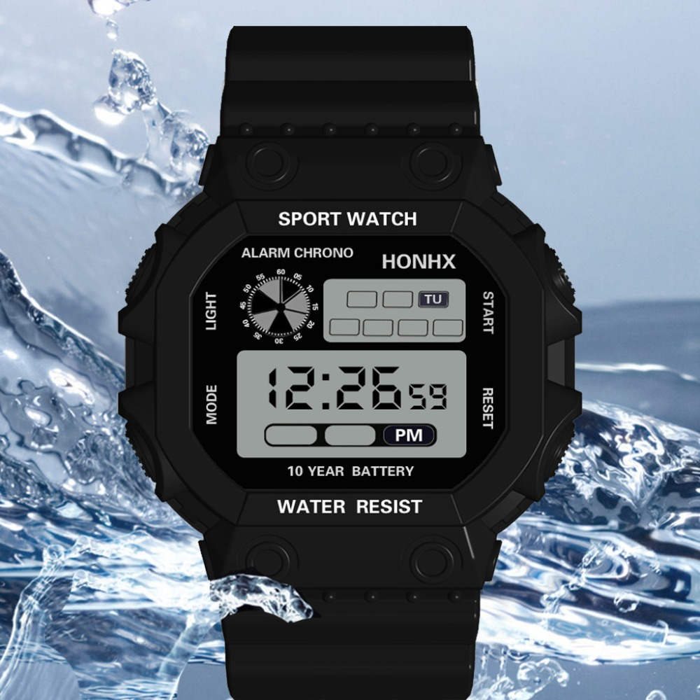 Watches Man Clock Digital Men Sport LED Watches Men's Digital Watch Men Watch Silicone Electronic reloj hombre relogio masculino