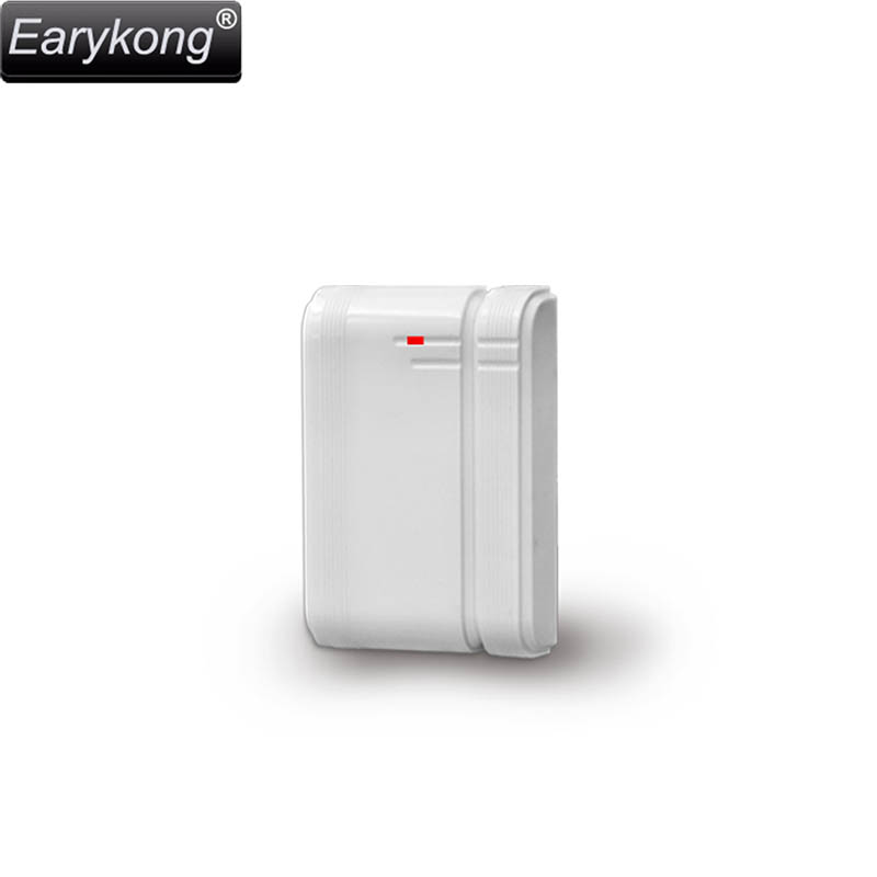 New 433MHz wireless door open magnet detector, inside antenna, For G18/G90B/Wifi GSM Home Burglar Alarm System wireless smoke fire detector for wireless for touch keypad panel wifi gsm home security burglar voice alarm system