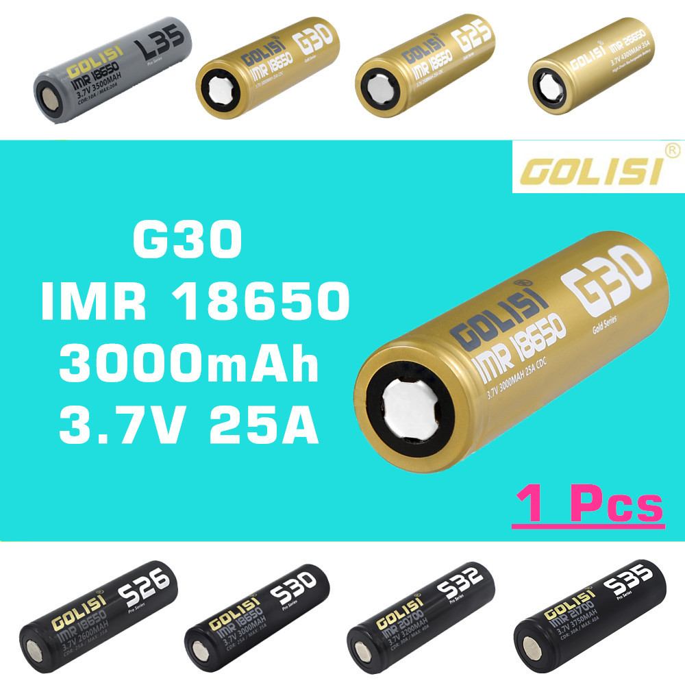 1 Pcs Xpower 18650 2600mah 962wh Protected Rechargeable Li On Liion Battery W Protection Circuit Free Golisi G30 Imr 3000 Mah 37v 25a Cdc High Drain E