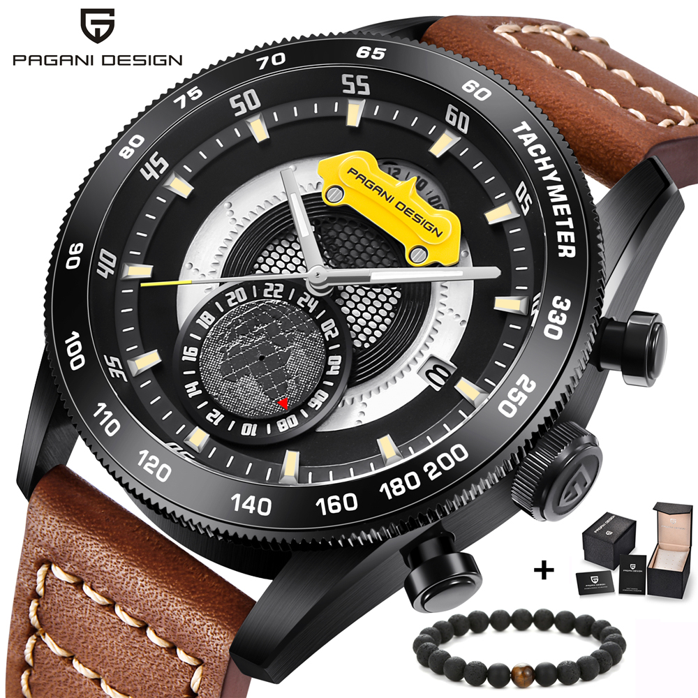 2018 New PAGANI DESIGN Luxury Brand Chronograph Sport Mens Watches Stainless Steel Waterproof Quartz Watch Relogio Masculino2018 New PAGANI DESIGN Luxury Brand Chronograph Sport Mens Watches Stainless Steel Waterproof Quartz Watch Relogio Masculino