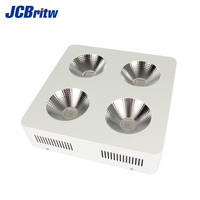 LED Grow Light COB 1200W Full Spectrum High Lumens with IR UV Diodes, 90 Degree Reflector for Indoor Plant Veg Bloom, High Yield