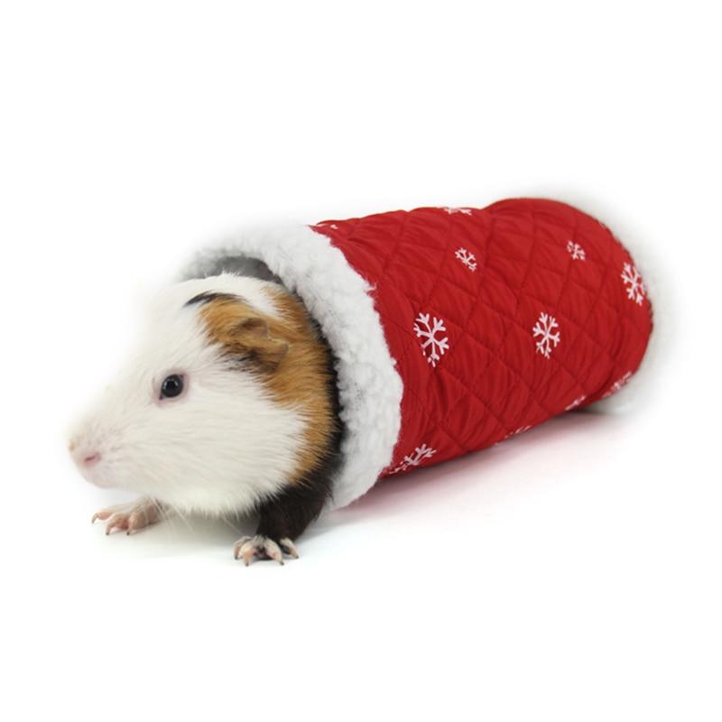 Navidad Cálido Mantener la piel de cordero casa Pet hamster casa - Productos animales