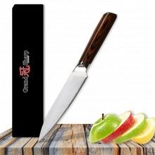 5 дюймов кухонный хозяйственный нож немецкий DIN1.4116 кухонные ножи из нержавеющей стали кухонные инструменты с подарочной коробкой Grandsharp