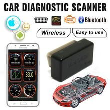 Auto Diagnostische Scanner OBD2 obdii Draadloze ELM327 Auto Code Reader Scan Bluetooth 4.0 Engine Diagnostic Tool voor IOS Android