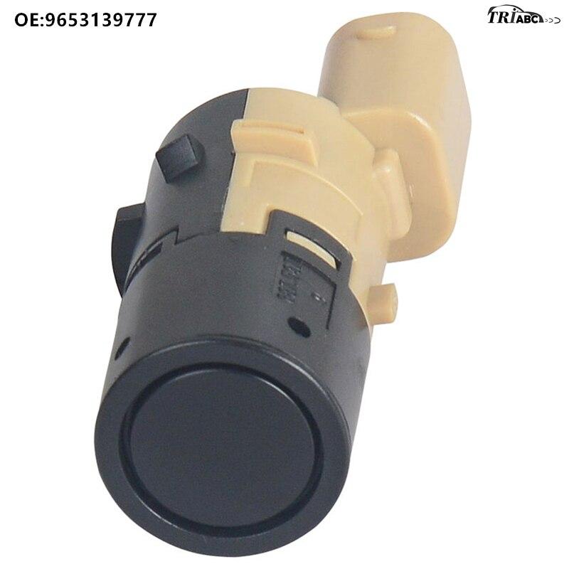 9653139777 Parking Sensor PDC For Peugeot 307 Hatchback 3A 3C Break 3E CC Convertible 3B 308 SW 3H Estate Citroen C8 Anti Radar in Parking Sensors from Automobiles Motorcycles