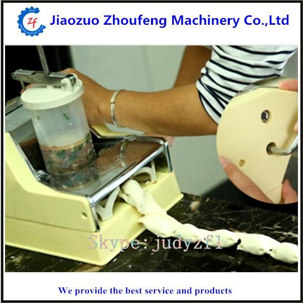 Dumpling maker manual hand oeprate home use mini home use manual hand dumpling jiaozi momo machine maker