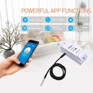 Image 5 - Sonoff TH10 TH16 WiFi SMART SWITCH การตรวจสอบอุณหภูมิความชื้น WiFi สวิทช์อัตโนมัติทำงานร่วมกับ Alexa Google Home
