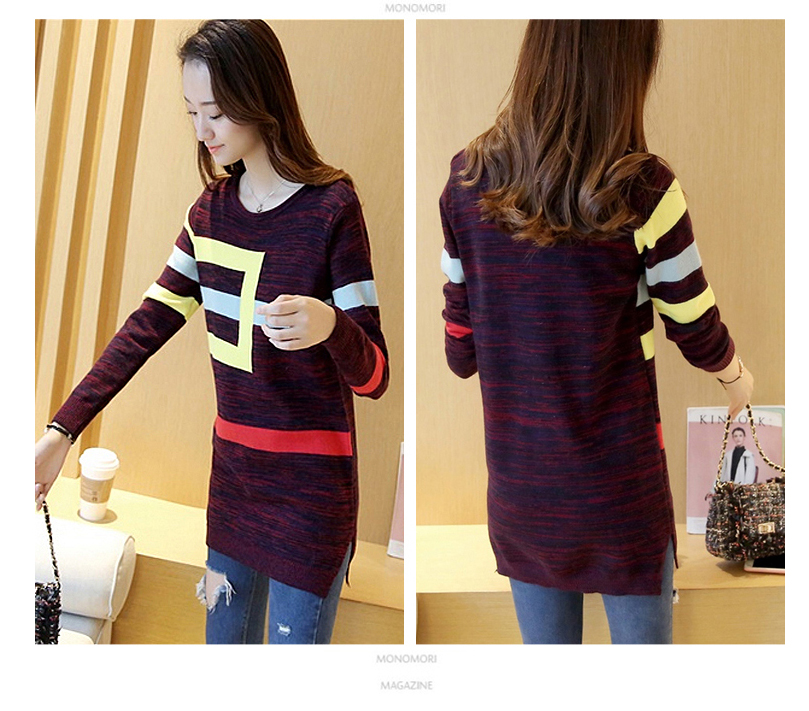 18 DRL sweater women Basic woman sweater pullovers long sleeve Jumper Long Sleeve Sweaters Autumn Winter pull femme hiver 22