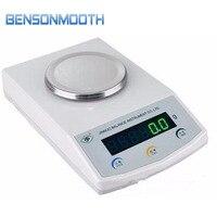 TD2001 pan rodada display LED balança eletrônica escala de laboratório Balanças de pesagem     -