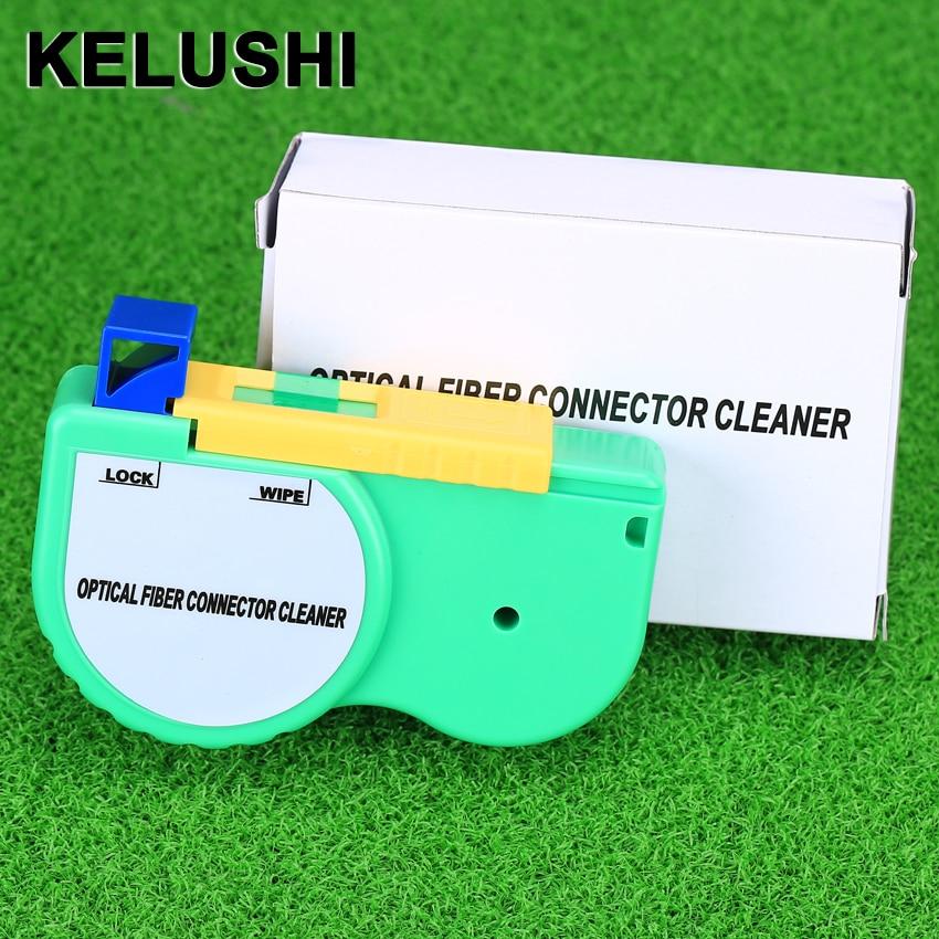 KELUSHI Fiber Optic Connector Cleaner / Fiber Optics Cleaning Tool / Cassette Cleaner