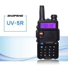 Портативная рация baofeng 5 Вт УКВ ДМВ два диапазона fm для