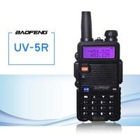 band uhf vhf Baofeng UV5R מכשיר הקשר CB רדיו משדר 5W VHF UHF Dual Band FM Handheld Amauter Ham שני הדרך רדיו UV5R לציד (1)