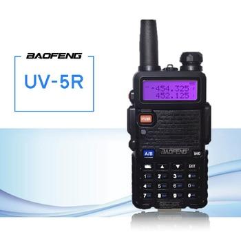 Baofeng UV-5R Walkie Talkie CB Radio Transceiver 5W VHF UHF Dual Band FM Handheld Amauter Ham Two Way Radios UV5R For Hunting
