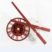Clock Mechanism Wall Clock Mechanism Large Acrylic rust texture pointer creative Kit movement when sand Watch Accessories