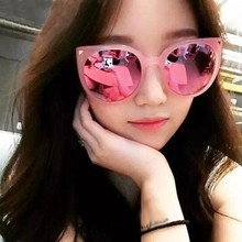 New 2016  Fashion Women Oversize Cat Eye Sunglasses Polarized Frame Lens Eyeglasses UV400 Eyewear LY6