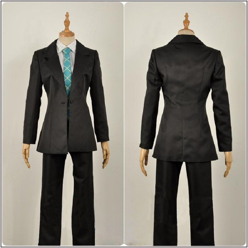Division Rap Battle Cosplay Doppo Kannonzaka Suits Hypnosis Mic DRB Uniforms Cosplay Costume Full Set Coat Shirt Tie Pants