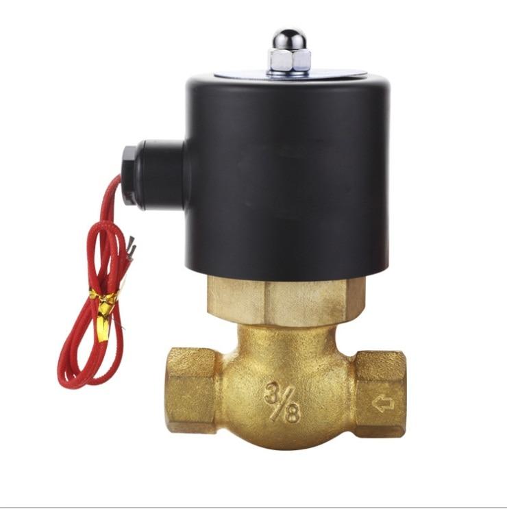 2 inch  High Temperature Solenoid Valve (US Series)  Normally closed   2L-50 3924450 2001es 12 fuel shutdown solenoid valve for cummins hitachi