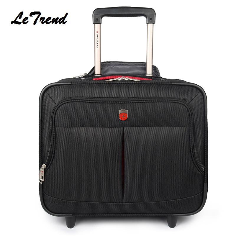 LeTrend New High Quality Nylon Travel Multi-function Luggage Hand Trolley Men Boarding Suitcase Large Capacity Travel Luggage LeTrend New High Quality Nylon Travel Multi-function Luggage Hand Trolley Men Boarding Suitcase Large Capacity Travel Luggage