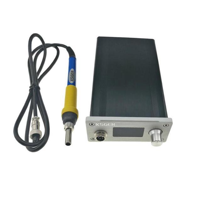 Soldering Station DIY Kit STM32 2 1S OLED Display Temperature Controller  Thermocouple T12 Welding Platform