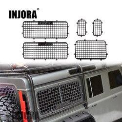 INJORA TRX4 T4 Metal Window Mesh Protective Net for 1/10 RC Crawler Car Traxxas Trx-4 Trx 4