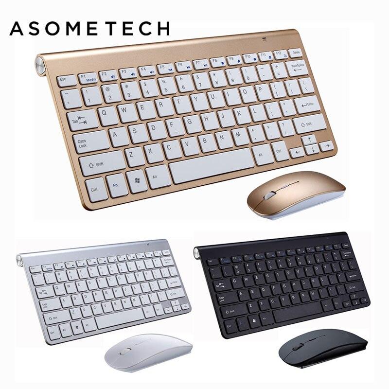 Senior 2.4Ghz Wireless USB Keyboard & Mouse Combo Keyboard + USB Receiver Set For Macbook Laptop PC Windows XP/8/10 Desktop Mice