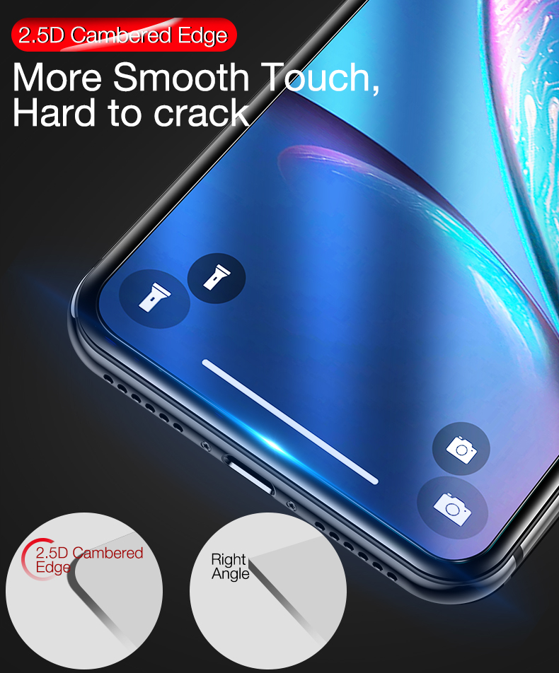 Screen Protector for iPhone x xr xs max 8 7 6  (4)