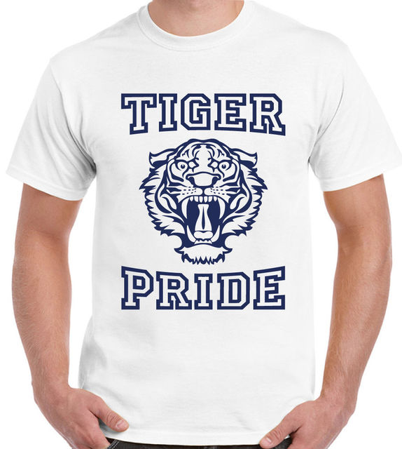 Tiger Pride High School Logo Mens 13 Reasons Why T Shirt W M In T