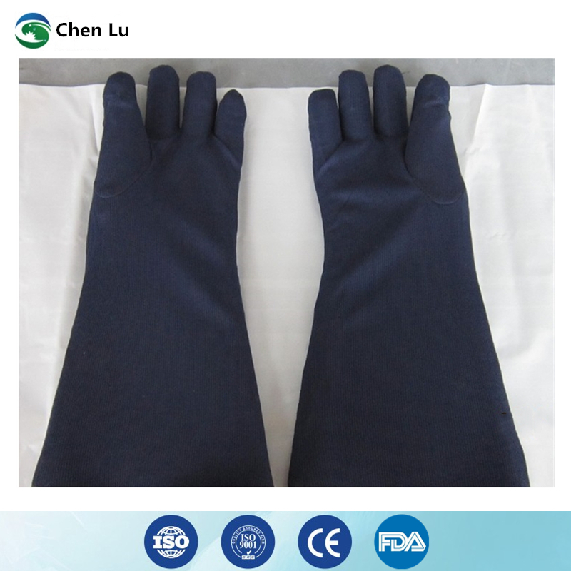 Free shipping x ray protective 0.35mmpb lead gloves Hospital/factory/laboratory nuclear radiation protection medical accessories-in Safety Gloves from Security & Protection    3