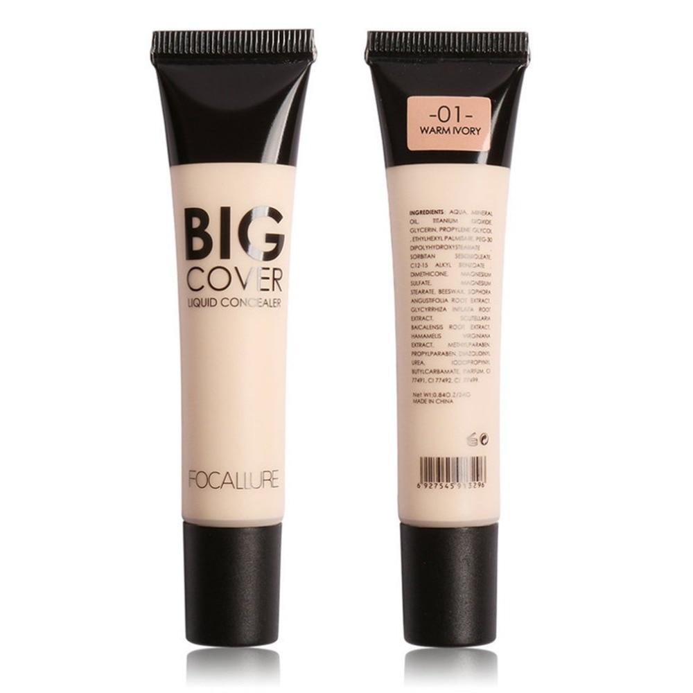 Perfect Cover Face Makeup Base Concealer Cream Corrector Natural Sweatproof Long Lasting Brighten Cream Contour Cream