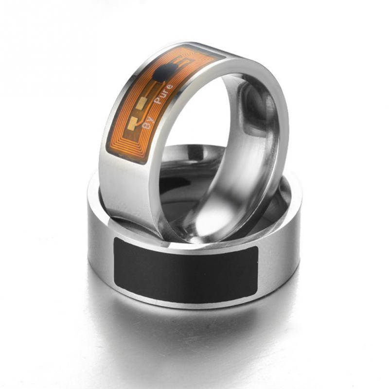 NFC Multifunctional Waterproof Intelligent Smart Ring 22