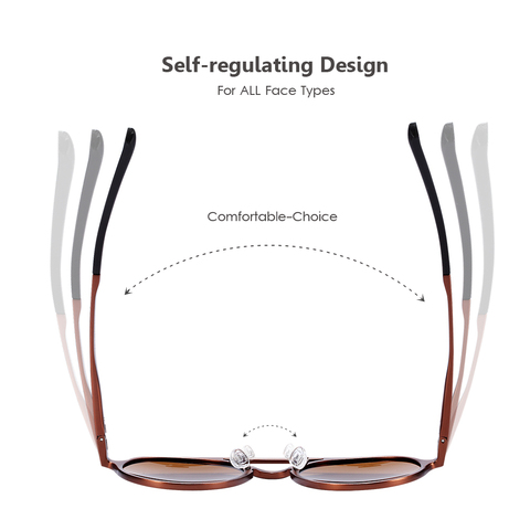 BARCUR Retro Aluminum Magnesium Sunglasses Polarized Vintage Eyewear Accessories Women Sun Glasses Driving Men Round Sunglasses Karachi