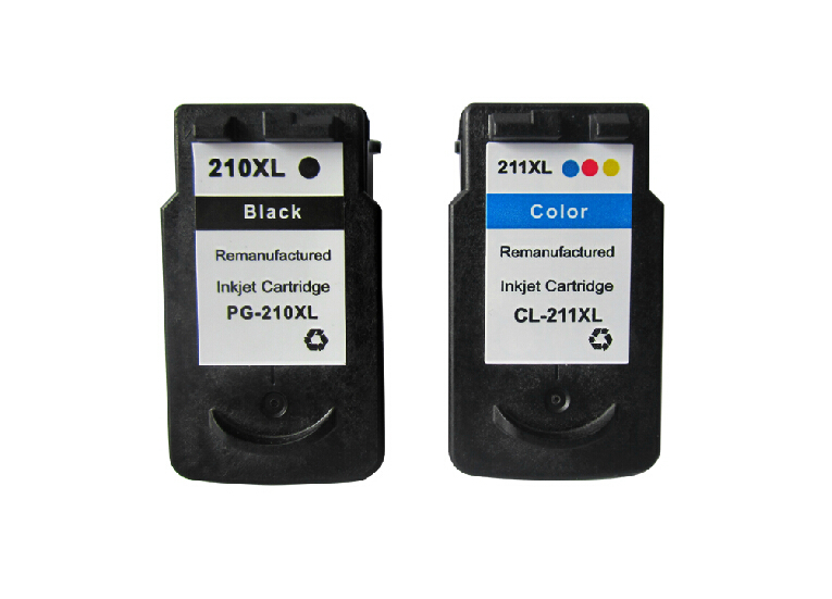 PG 210XL CL 211XL Ink Cartridges For Canon 210 211 XL PIXMA IP2700 MP240 MP270 MP480 MP490 In From Computer Office On