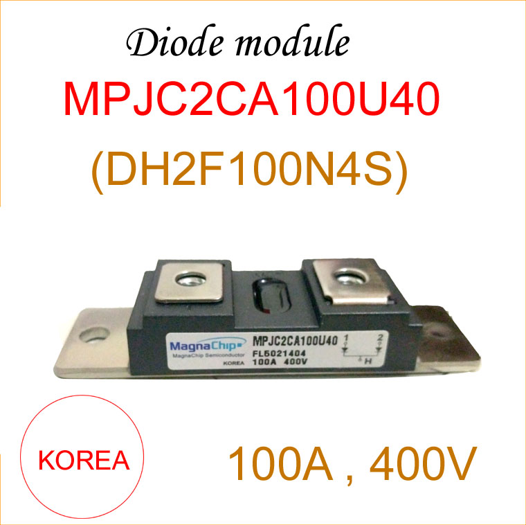 Envío gratis módulo de diodo COREA DH2F100N4S 100A 400 V módulo de - Equipos de soldadura - foto 1