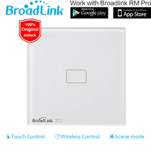 Broadlink TC2 1 Gang EU UK Customary Good House Automation Wifi Distant Management Contact Display Wall Mild Change Help iOS Android