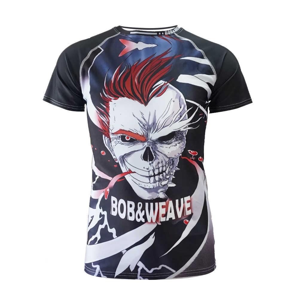 Camiseta de boxeo jerseys Tigre muay thai mma rashguard jiu jitsu traje de sauna rashguard boxeo bjj