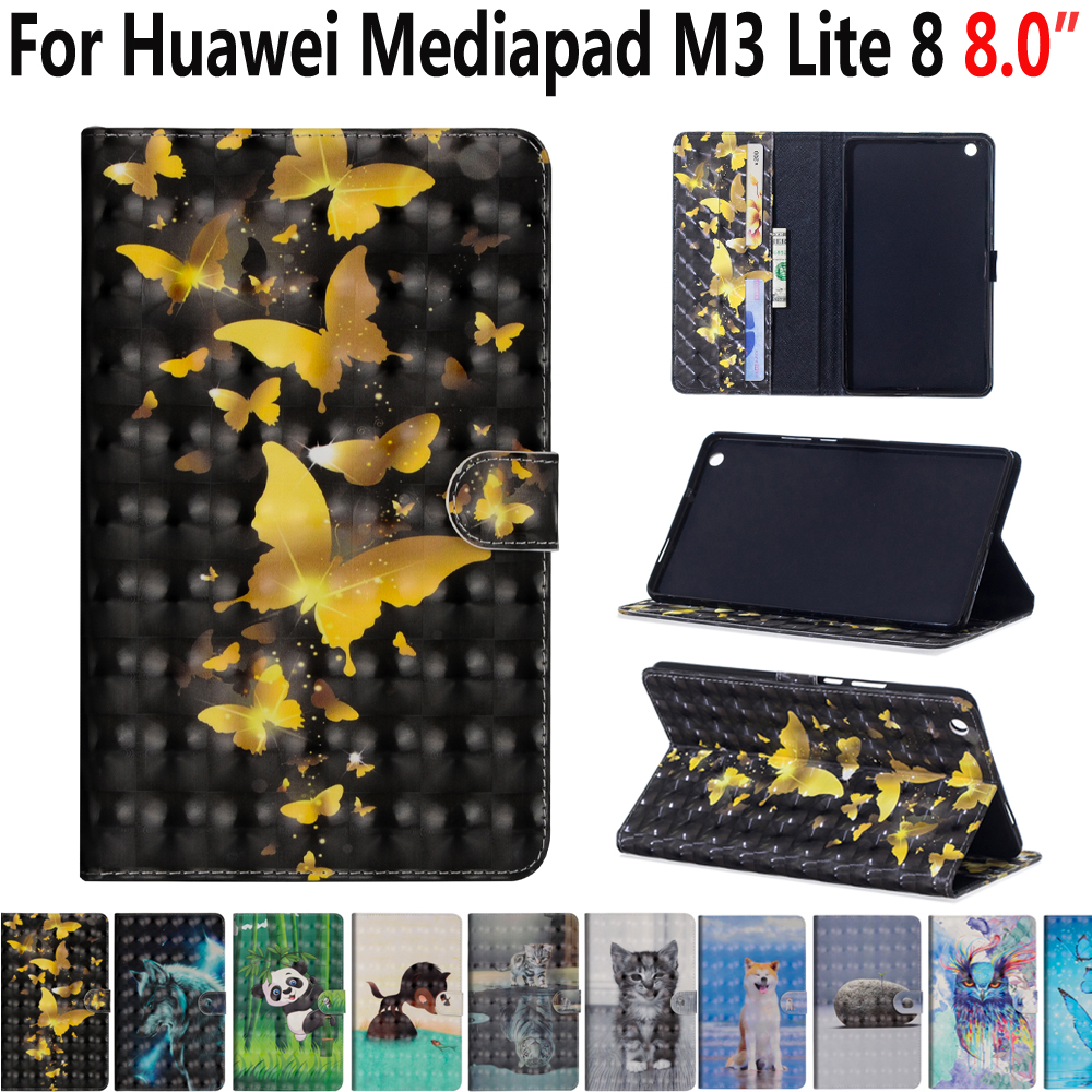 Animal Case For Huawei Mediapad M3 Lite 8 8.0 CPN-L09 CPN-W09 CPN-AL00 Cover Shockproof Stand Case For Huawei Mediapad M3 Lite 8