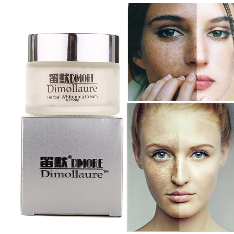 Dimollaure Strong Effect Whitening Cream 20g Retinol Remove Freckle Melasma Acne Spots Pigment Melanin Face Care Cream By Dimore