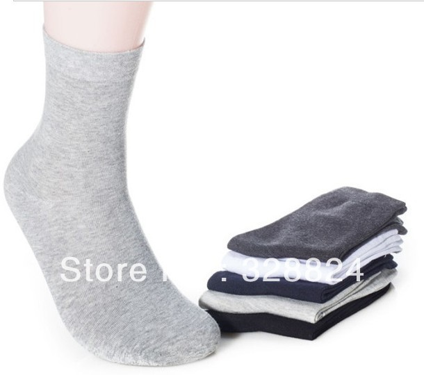 3 Pairs Lot Mens Multi-Color Socks Above the ankle