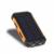 Nueva Prueba de Agua Solar Banco de la Energía 10000 mah 2 USB luz LED Brújula Viajes powerbank Cargador Portátil de Batería Solar para todas teléfono